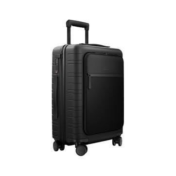 M5, Cabin Suitcase, W40 X H55 X D20cm, Black