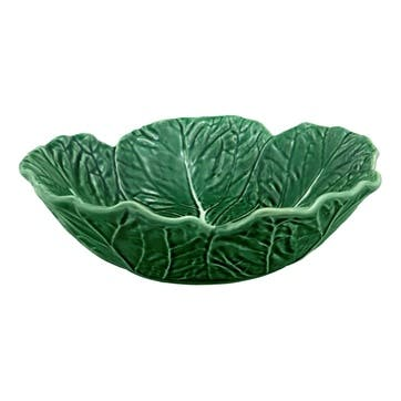 Cabbage Serving Bowl, 29cm, Green
