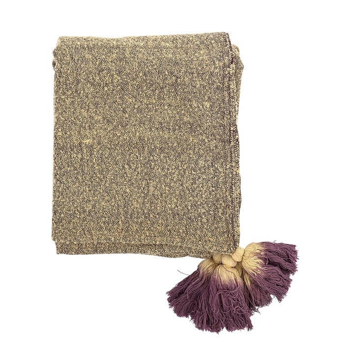 Ombre Tassle Throw