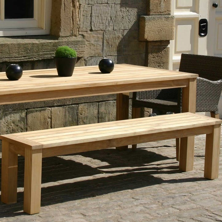 Antibes Outdoor Bench, 170cm