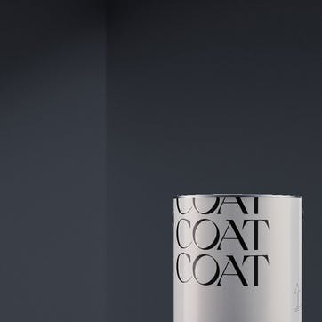 Flat Matt Wall & Ceiling Paint, 2AM Dark Blue 2.5L