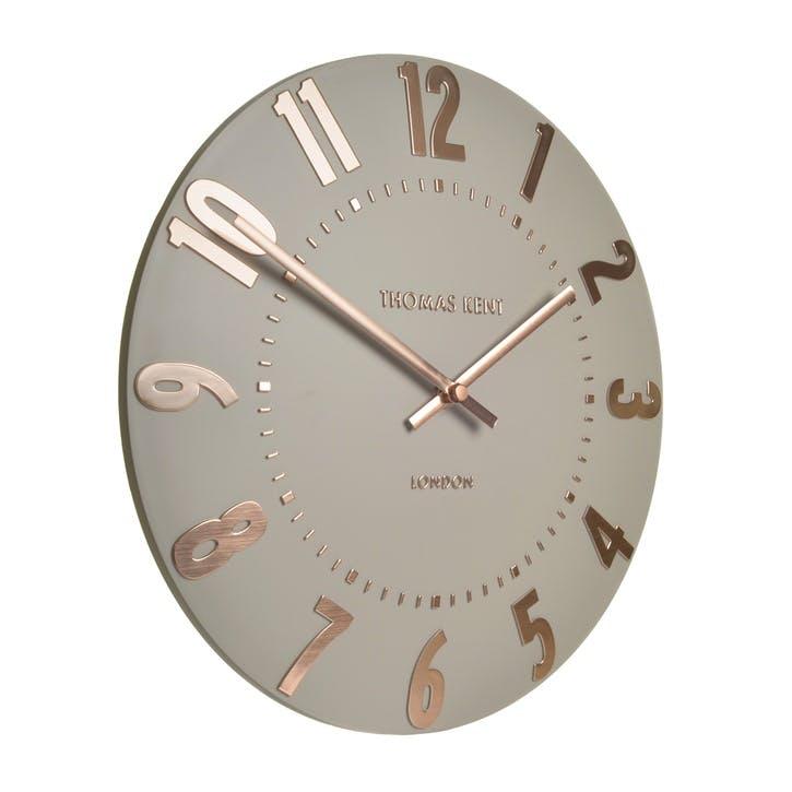 Mulberry Clock, 51cm, Rose Gold