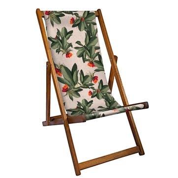 Deckchair Tropical Leaves