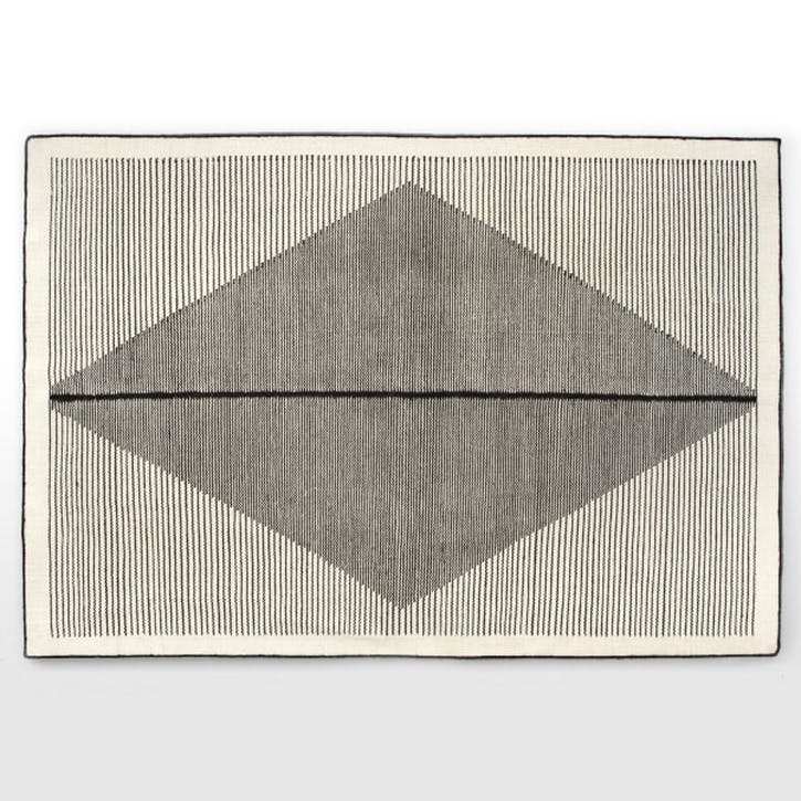 Camden Large Diamond Wool Rug 160 x 230cm
