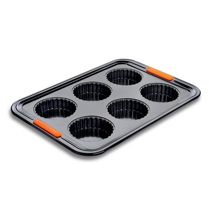 Bakeware Non-Stick 6 Cup Tart Tray