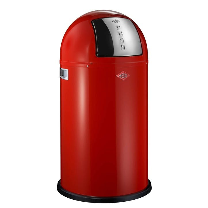 Pushboy Bin 50L, Red