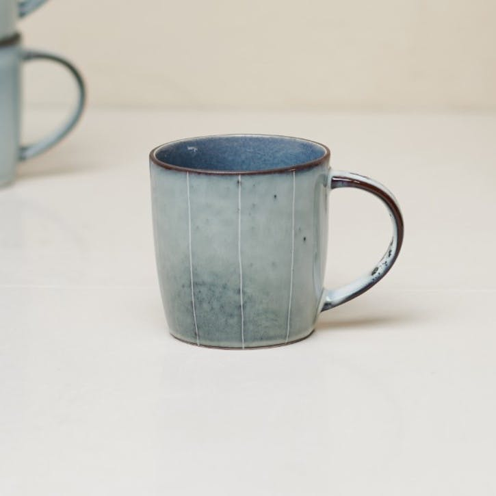 Bao Handled Mug; Navy