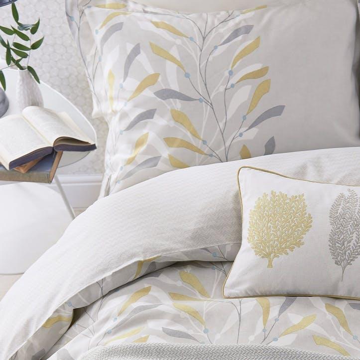 Sea Kelp Oxford Pillowcase, Ochre