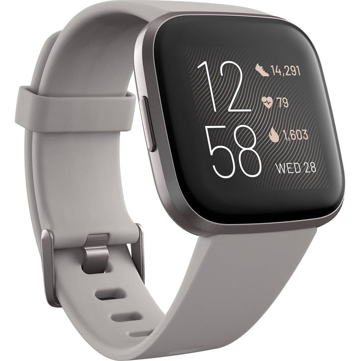 Versa 2 Smart Watch, Silver Grey