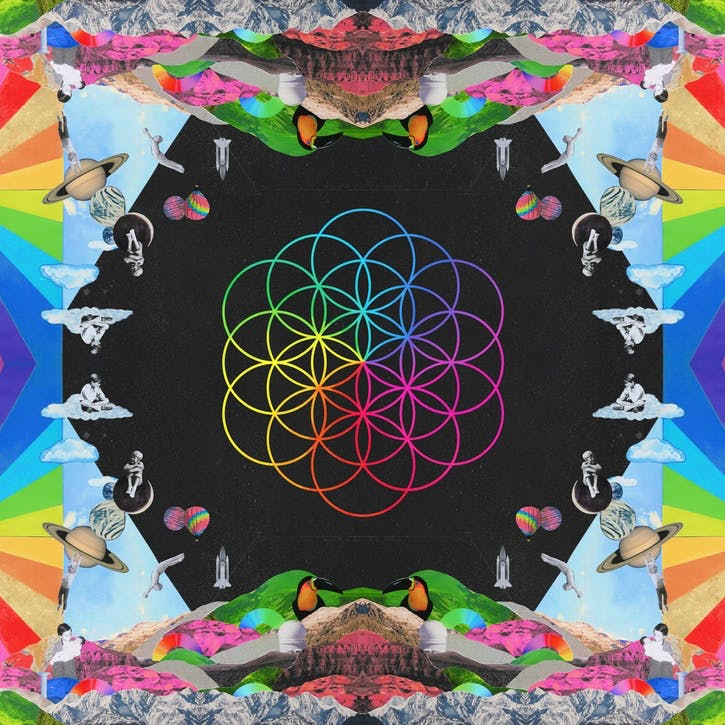 "Coldplay, A Head Full Of Dreams 12"" Vinyl"