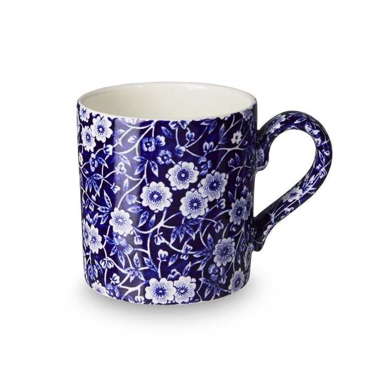 Calico Mug, 375ml, Blue