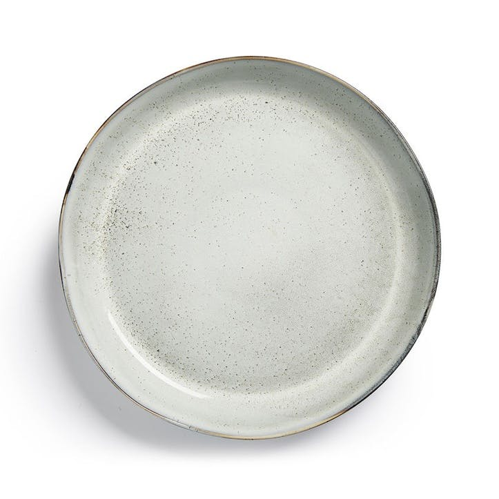 Osby Servering Plate, Light Grey