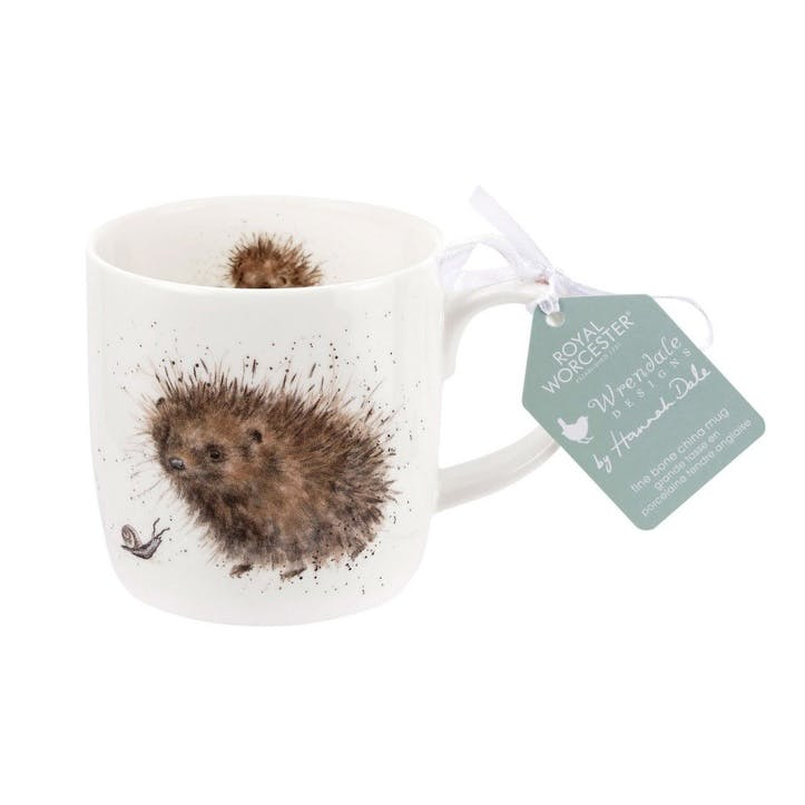 Wrendale Fine Bone China Mug; Prickled Tink