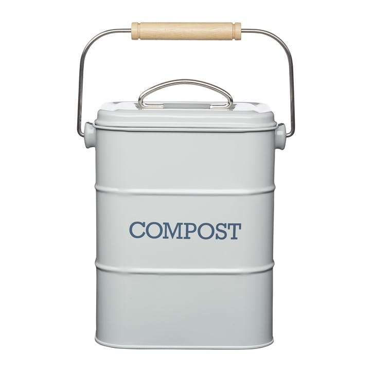 Living Nostalgia Compost Bin in French Grey