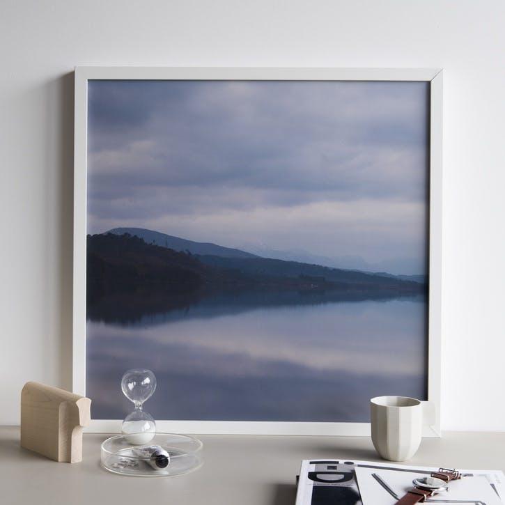 Inky Skye Print - 30 x 30cm