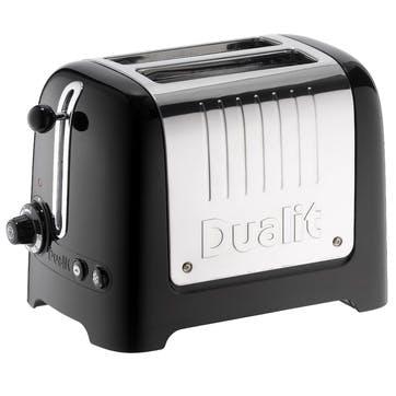 Lite Toaster 2 Slot; Black