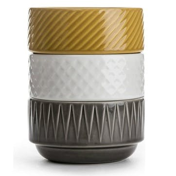 Coffee & More, Bowl, 12 cm, Grey