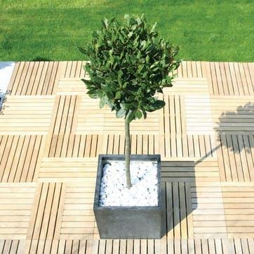 Urban Terrazzo Planter - 45cm; Black