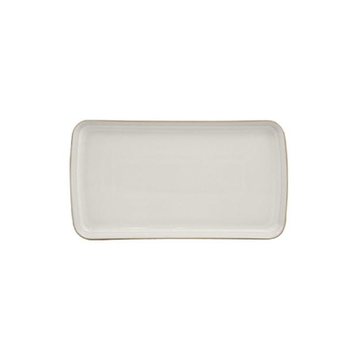 Natural Canvas Platter, 26cm, Cream