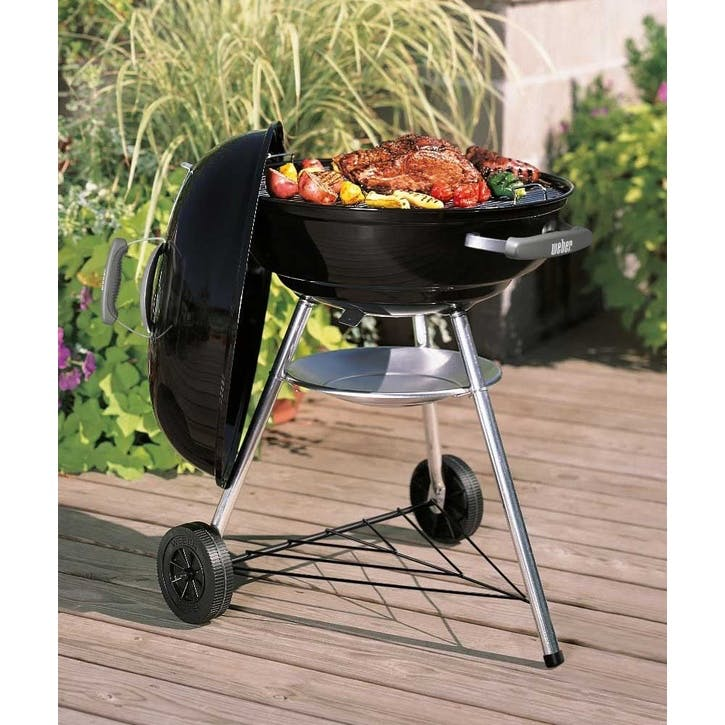 Compact Charcoal Grill, 57 cm