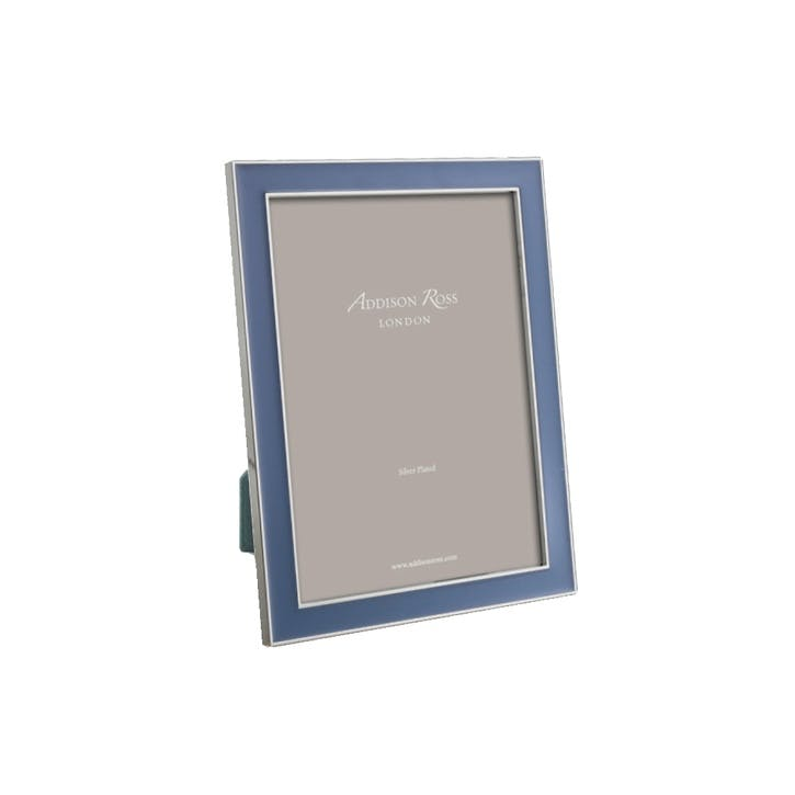 "Rich Enamel Photo Frame - 4"" x 6""; Denim"
