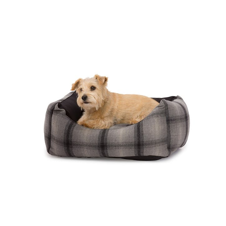 Tweed & Water Resistant Rectangle Bed - Small