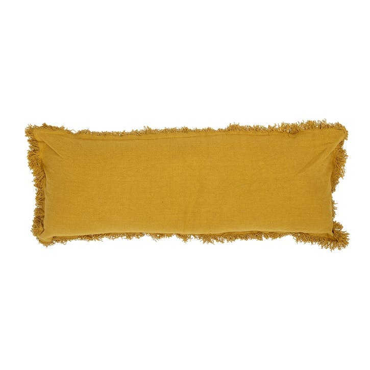 Bolster Cushion, Mustard