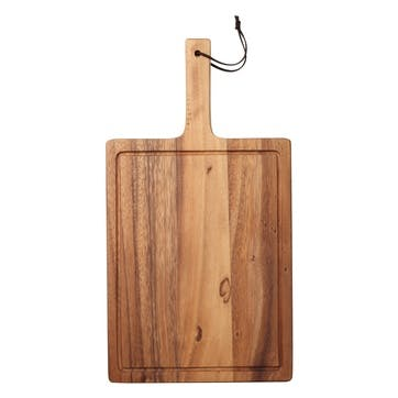 Tuscany Handle Board with Leather Tie, Large
