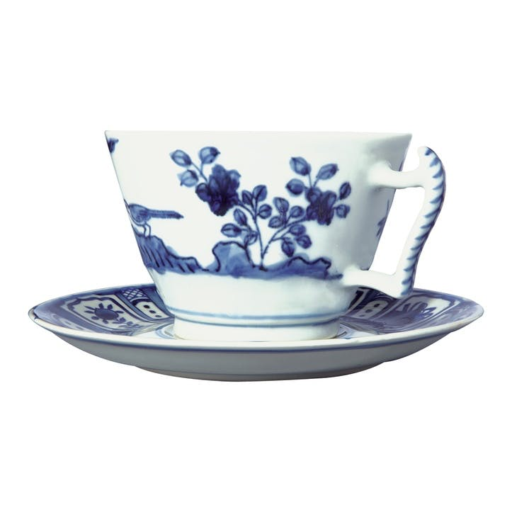 Kraakware Breakfast Cup & Saucer