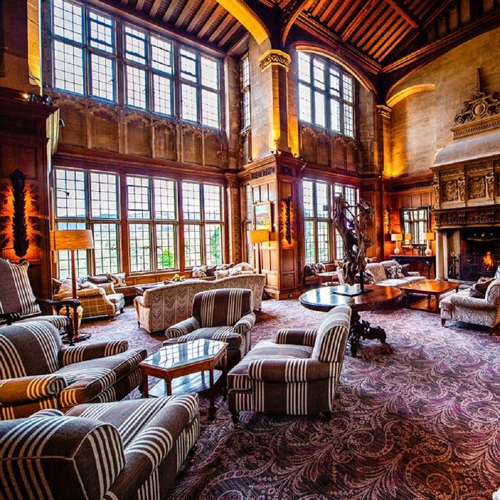 One Night 'Time to Spa' Break for Two at Bovey Castle