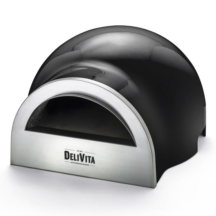 Delivita Outdoor Oven; Very Black