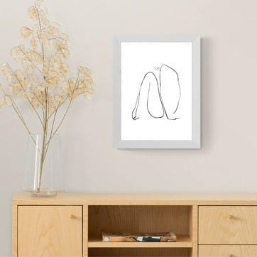 Joanna Mudrowska, Infinity Framed Art Print