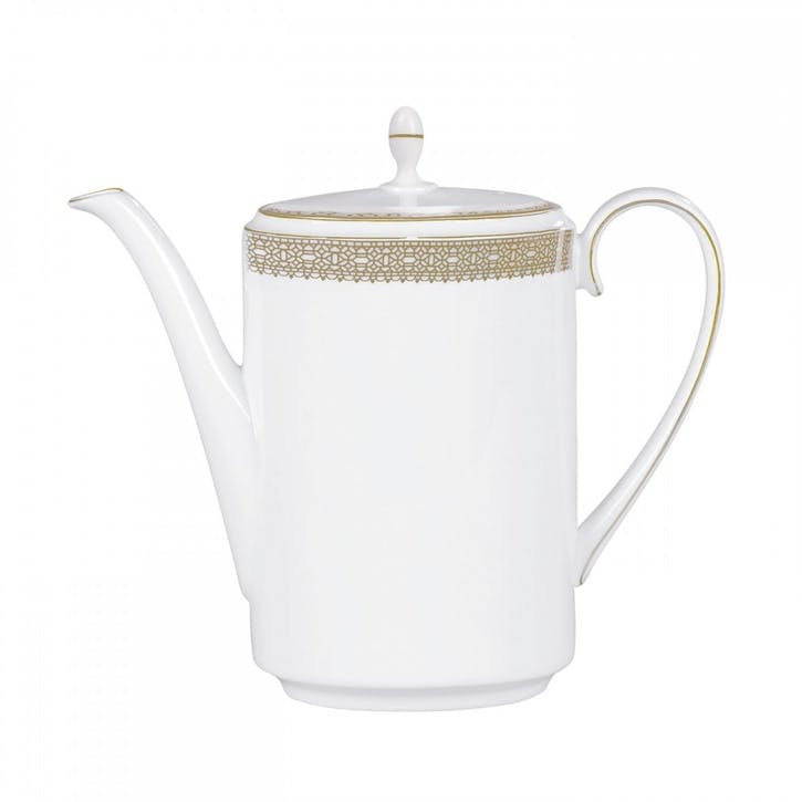 Lace Gold Coffeepot