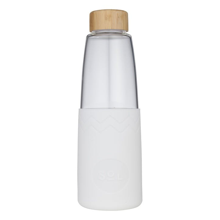 Water Bottle, White Wave