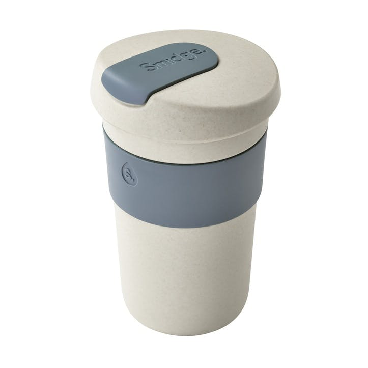 Natural Collection Coffee Cup, 400ml, Sand & Storm