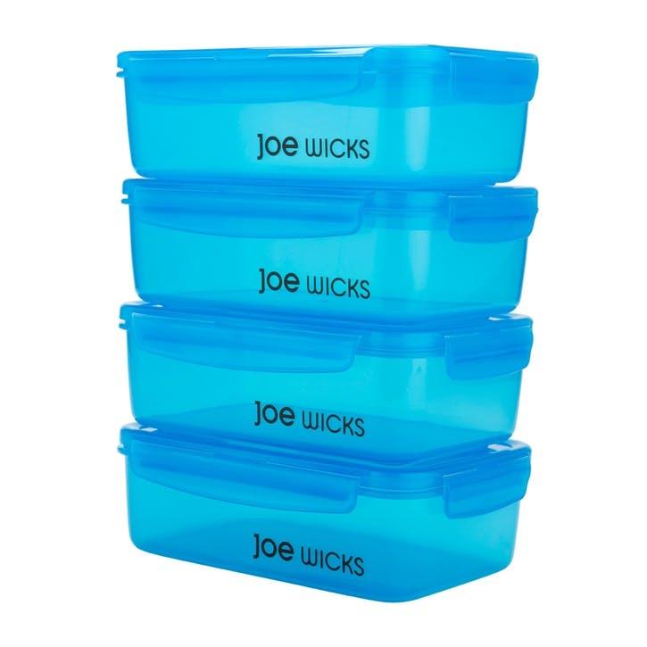 Container Set, 4 Piece, Blue