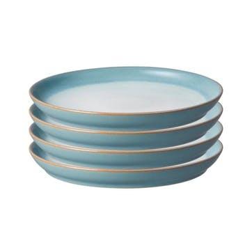 Azure Haze Dinner Plate, Set of 4