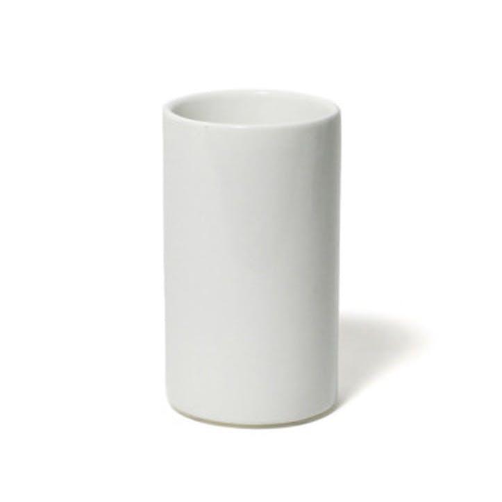 Lacquer Bathroom Tumbler, White