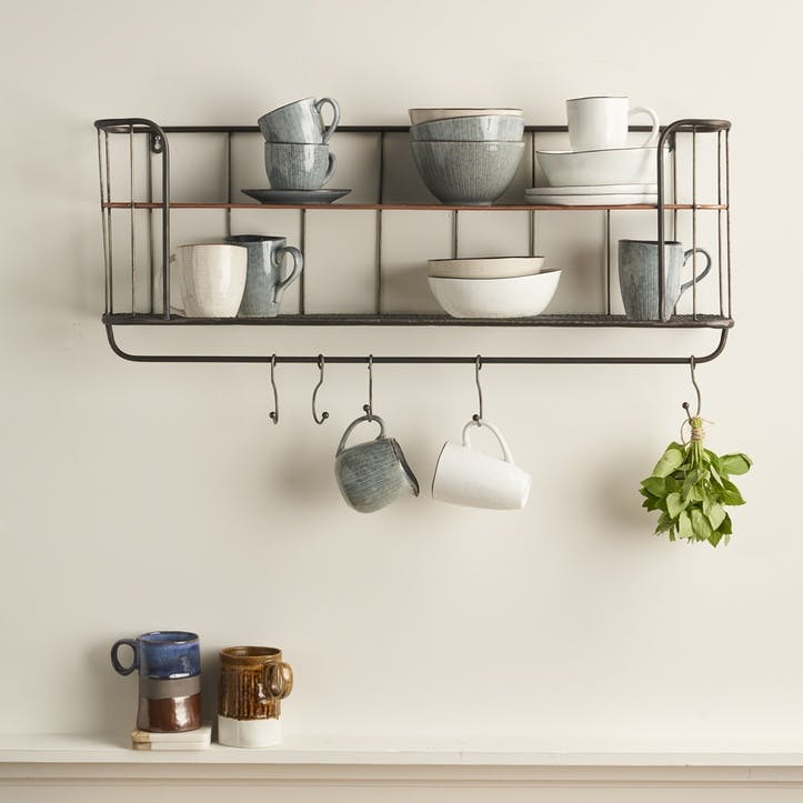 Industrial Metal Shelf Unit