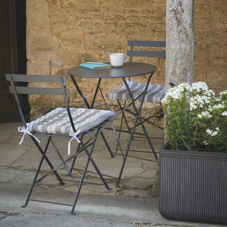 Rive Droit Bistro Set, Small, Carbon