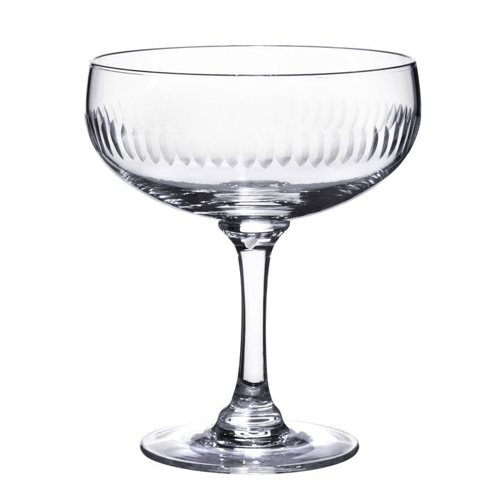 Spears Crystal Cocktail Glasses, Set of 4