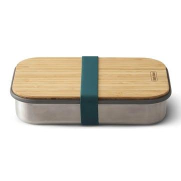 Stainless Steel Sandwich Box, 900ml, Ocean