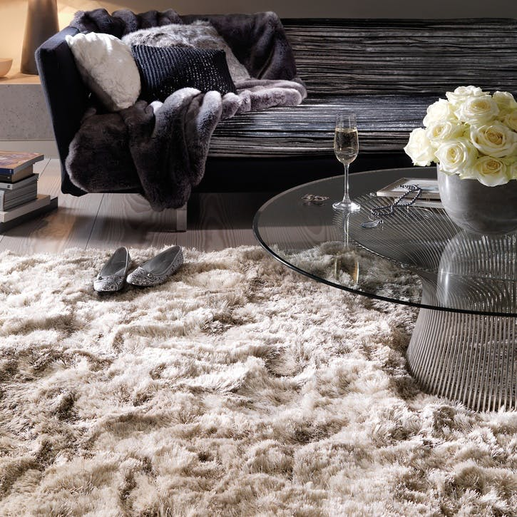 Plush Rug, 1.2 x 1.7m, Sand