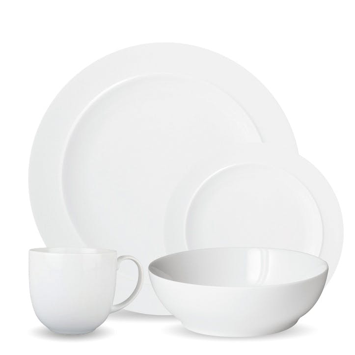 White 16 Piece Tableware Set