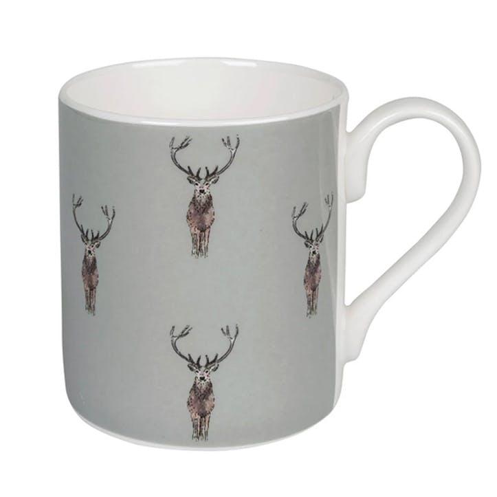 'Highland Stag' Mug, Large