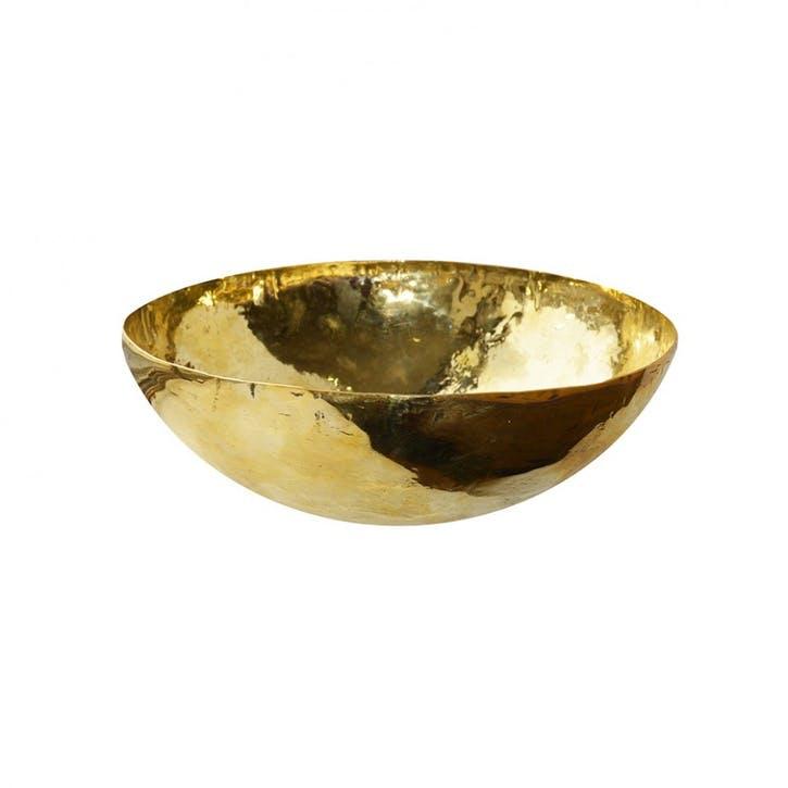 Brass Salad Bowl