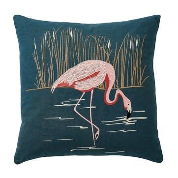 Coppice Cushion, Peacock