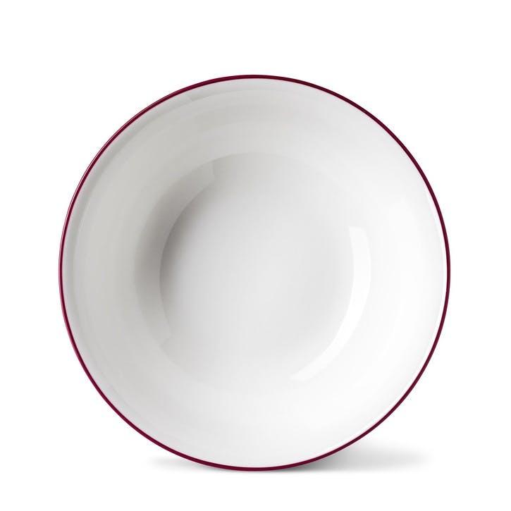 Rainbow Cereal Bowl, Cerise Pink