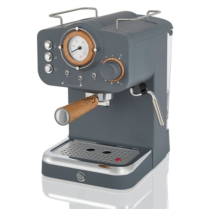 Nordic Espresso Machine, Slate Grey