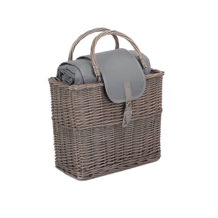 Chiller Basket And Picnic Blanket